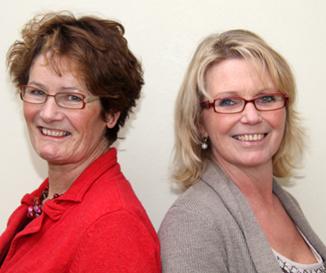 Catherine Goumans en Ankie Schenning