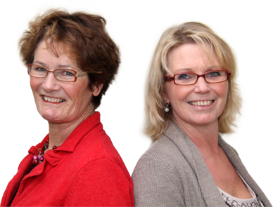 ankie schenning en catherine goumans, oefentherapie Cesar in Goirle